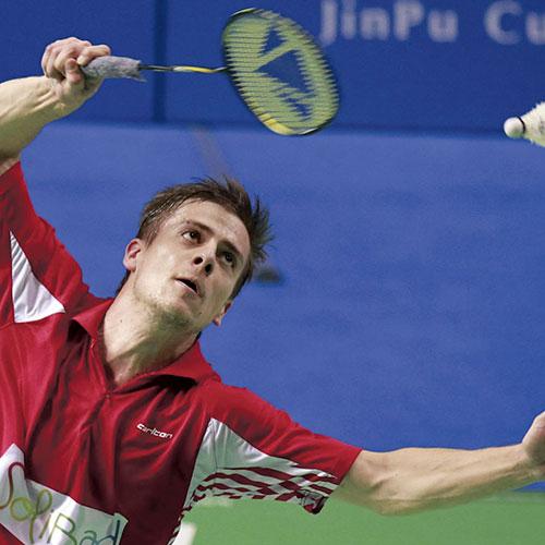 Badminton, Danois. Barre énergétique Bio chez DP-Elittis