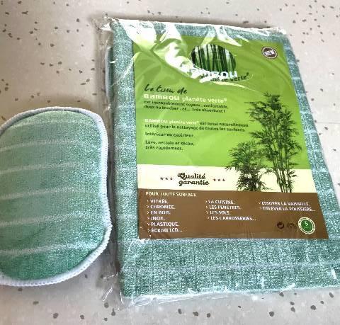 Micro Fibre Bambou 'Planète Verte'