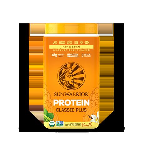 Synergie de Protéines Végétales Bio, Classic-Plus -Vanille-