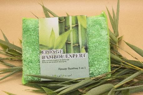 Eponge Micro Fibre Bambou Expert