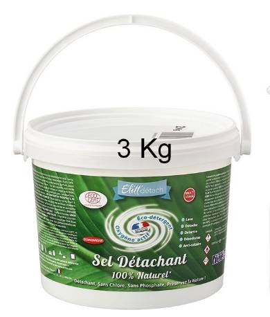 Sel Détachant Elitt détach 3Kg