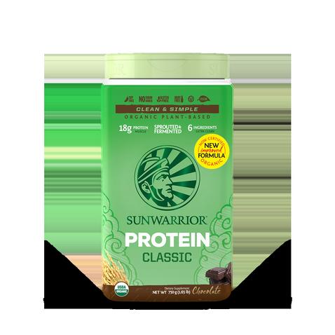 Protéine Végétale Bio, Protéine de Riz  -Sunwarrior- Chocolat