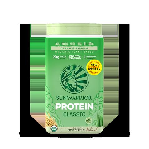 Protéine Végétale Bio, Protéine de Riz Sunwarrior -Nature-