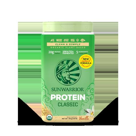 Protéine Végétale Bio, Protéine de Riz  -Sunwarrior- Vanille