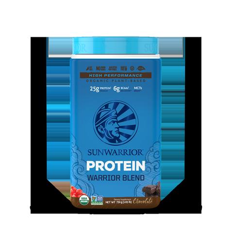 Warrior Blend Protéines Végétales Bio, Multi-Sources - Chocolat 750g